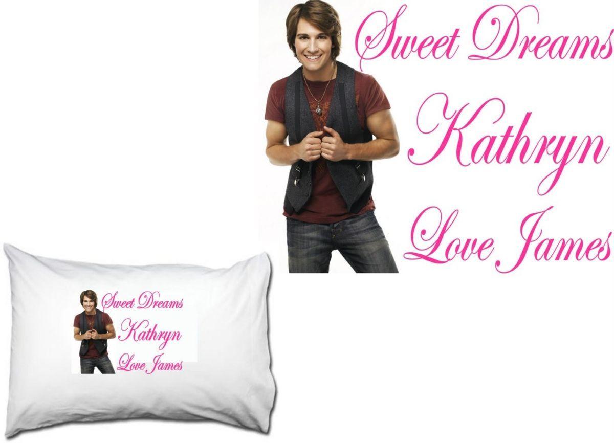 James Maslow Big Time Rush Custom Standard Pillowcase