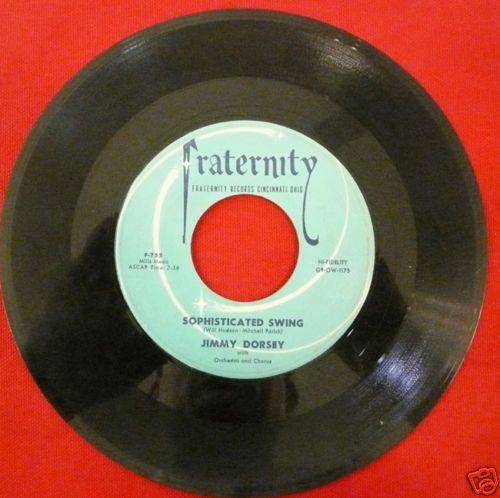 Jimmy Dorsey His Orchestra Fraternity F 755 So RARE