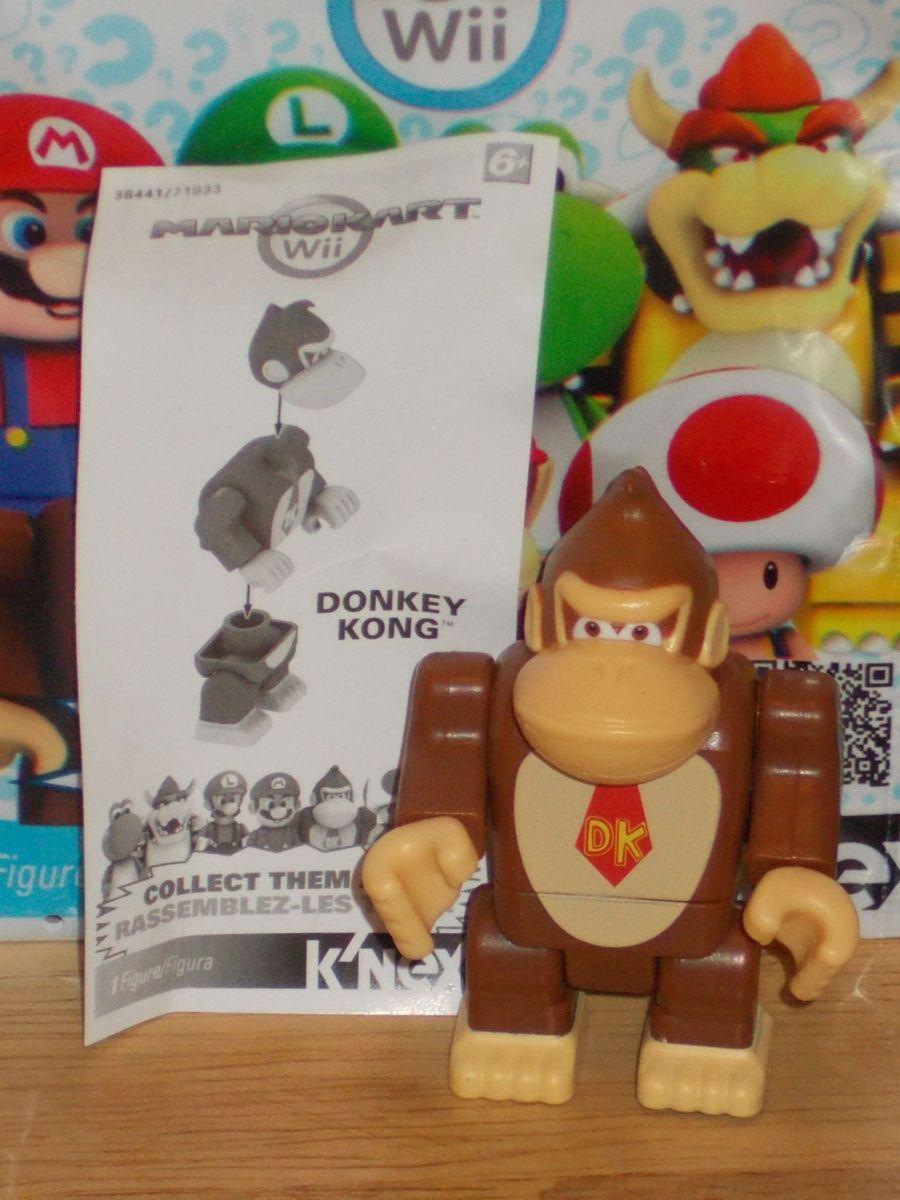 2012 KNEX 38441 Nintendo Mario Kart Wii Donkey Kong Building Figure
