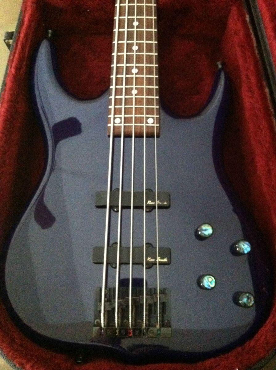 Ken Smith 5 String Burner Bass Guitar Early 90S