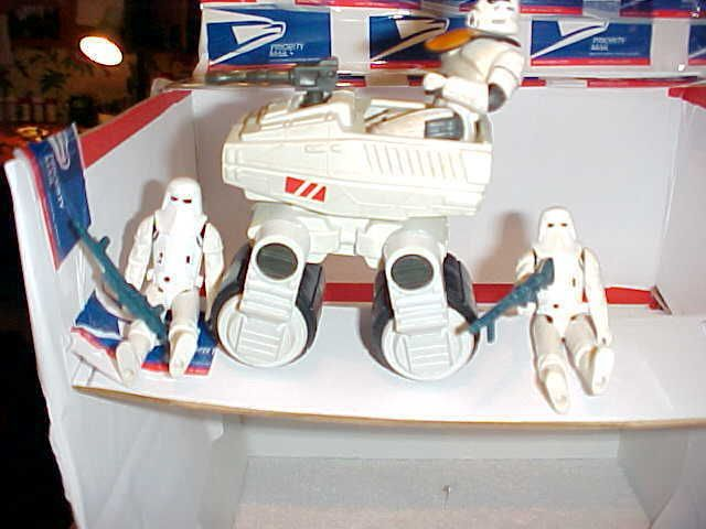 1981 Star war empire strikes back Collectibles made by kenner figures