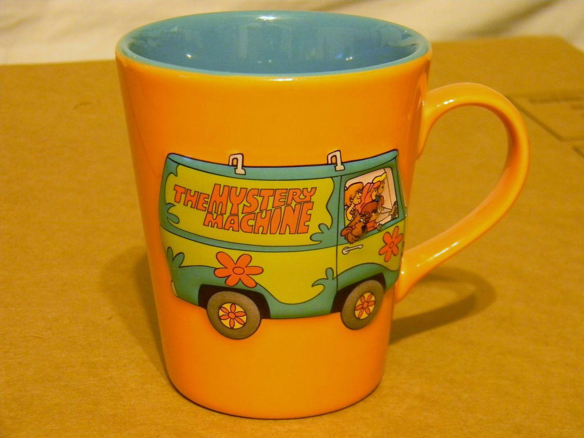 LIKE WOW SCOOBY DOO MYSTERY MACHINE COFFEE CUP MUG CARTOON NETWORK