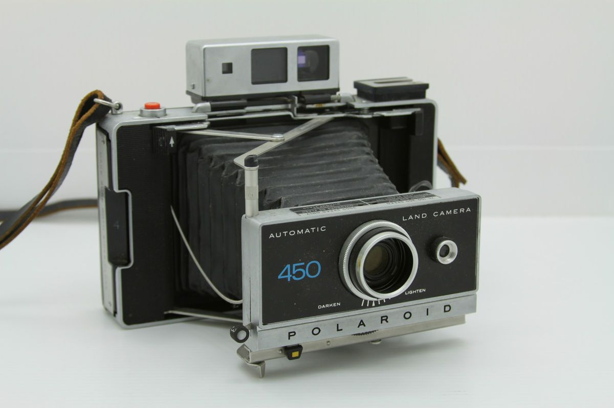 Polaroid 450 Land Camera Instant Film Look