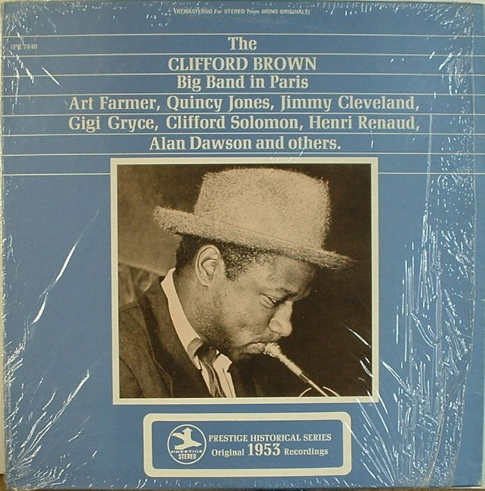 Clifford Brown Big Band in Paris Prestige 7840 Stereo