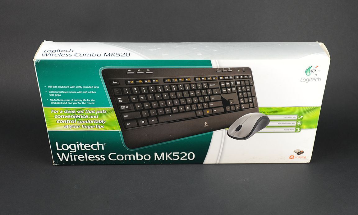 Logitech Mk520 Wireless Keyboard Mouse Combo New Lk Mk220