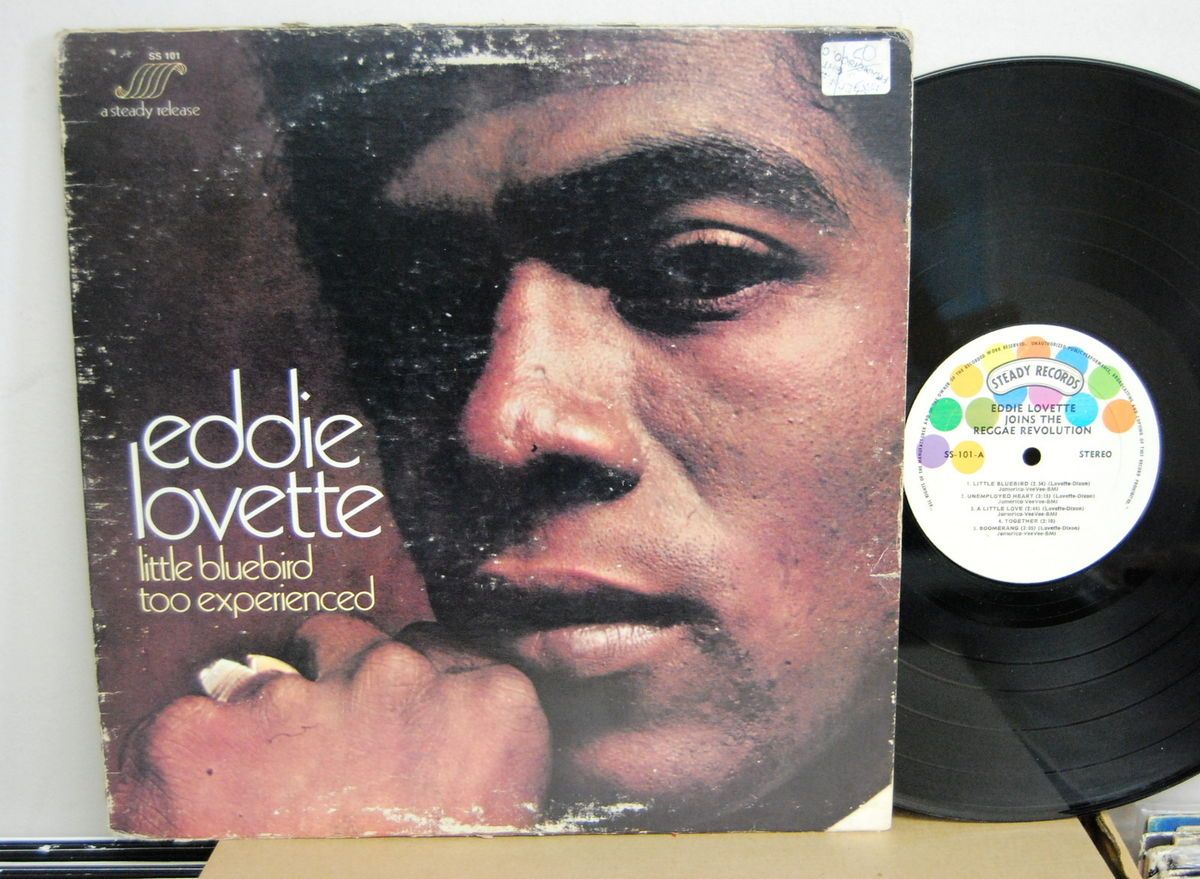 EDDIE LOVETTE LITTLE BLUE BIRD TOO EXPERIENCED LP OG STEADY RECORDS SS