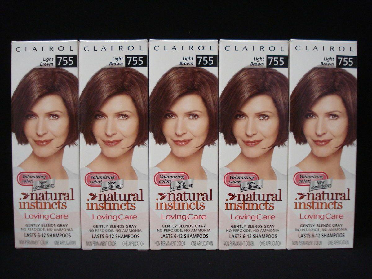 Natural Instincts Loving Care Hair Color Light Brown 755