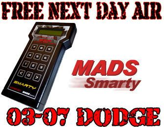 MADS Electronics Smarty Super Sport Revo Tuner 03 07 Dodge Ram Cummins