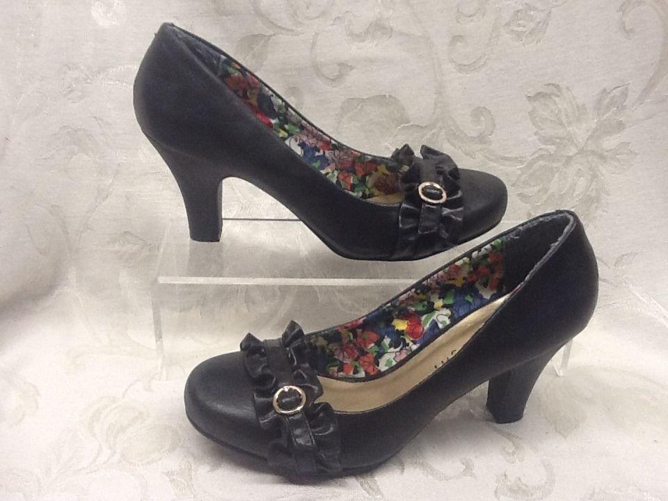 Madden Girl by Steve Madden UNGARO Black Heels Shoes Pumps Size 6 MSRP