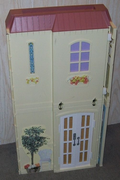Barbie Doll House Happy Family 2004 Mattel Working Electronics