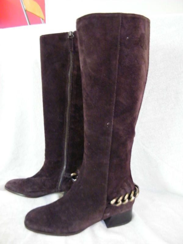 Michael Kors Shoes Sandals Heels Boots Brown Suede 6 5 36 5