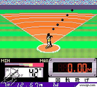 International Track Field Nintendo Game Boy Color, 2000