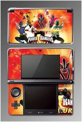 Power Rangers Samurai Red Sword SKIN 4 for Nintendo 3DS