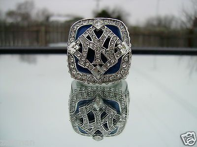 Newly listed 2009 NEW YORK YANKEES WORLD SERIES CHAMPIONSHIP FAN RING