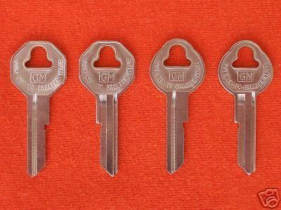 38 50 51 52 53 54 55 56 57 GMC CHEVY TRUCK Key Blanks