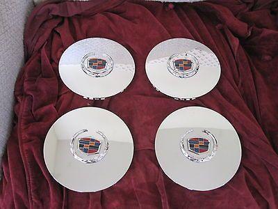 Cadillac Escalade chrome wheel center caps hubcaps EXT ESV 4575 set of