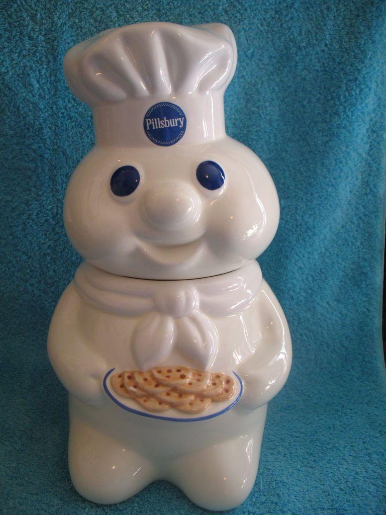 Pillsbury Doughboy Cookie Jar ~ 1997