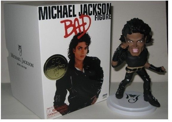 Michael Jackson Q version, memorial dolls toys 18cm