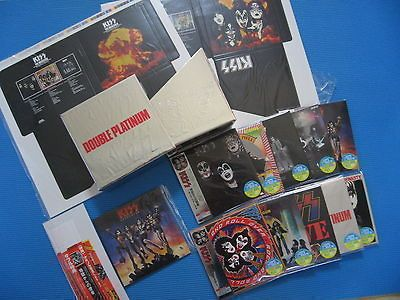 KISS 10 Mini LP CDs w/Double Plainum BOX Complee w/Cover,OBI Se