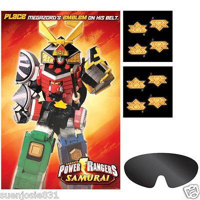 Power Rangers Samurai Party Game Party Supplies