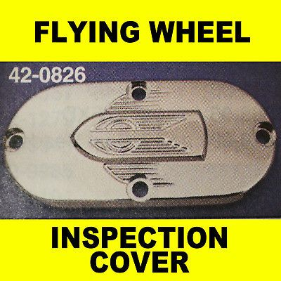HARLEY DAVIDSON FLYING WHEEL PRIMARY INSPECTION COVER