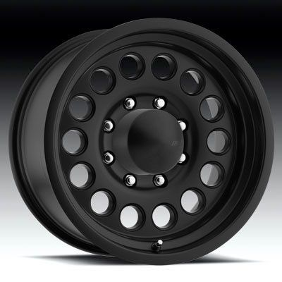 AMERICAN EAGLE WHEELS 100 BLACK CHEVY GMC JEEP WRANGLER COMMANDER RIMS