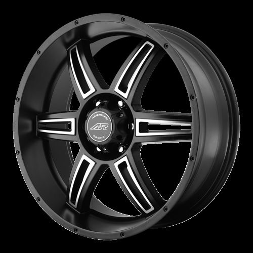 18 inch Black Wheels Rims Chevy GMC Truck Astro 5 Lug 5x5 5x127 Jeep