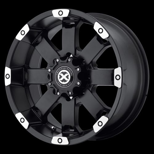 18 Inch Black Wheels Rim Chevy Silverado GMC Sierra Truck 1500HD 2500