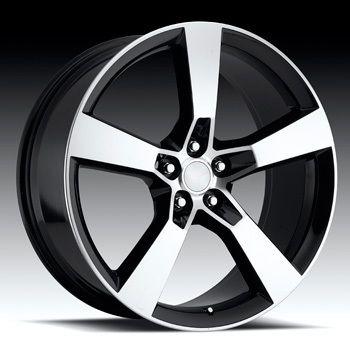 20 Camaro SS 2009 2010 2011 2012 Black Machine Face Wheels Rim