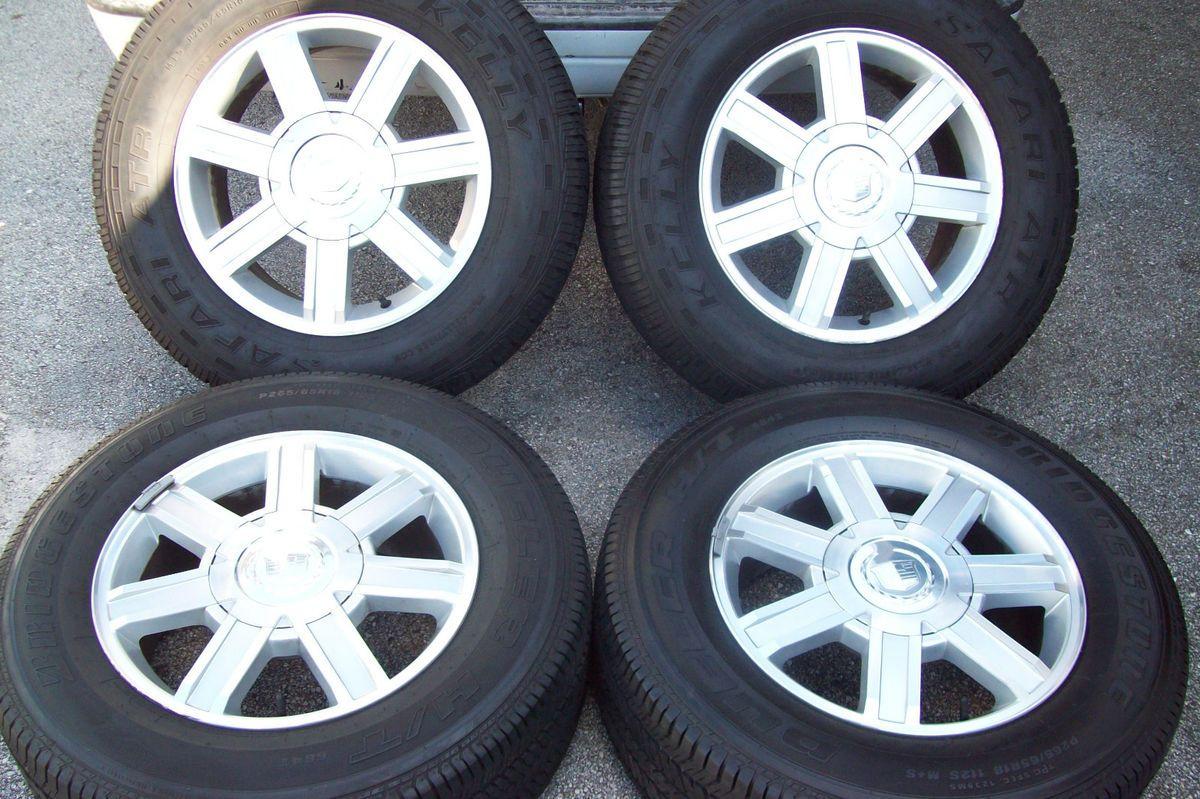 2007 2012 18 Cadillac Escalade Chevy Tahoe Yukon Factory Wheels Tires