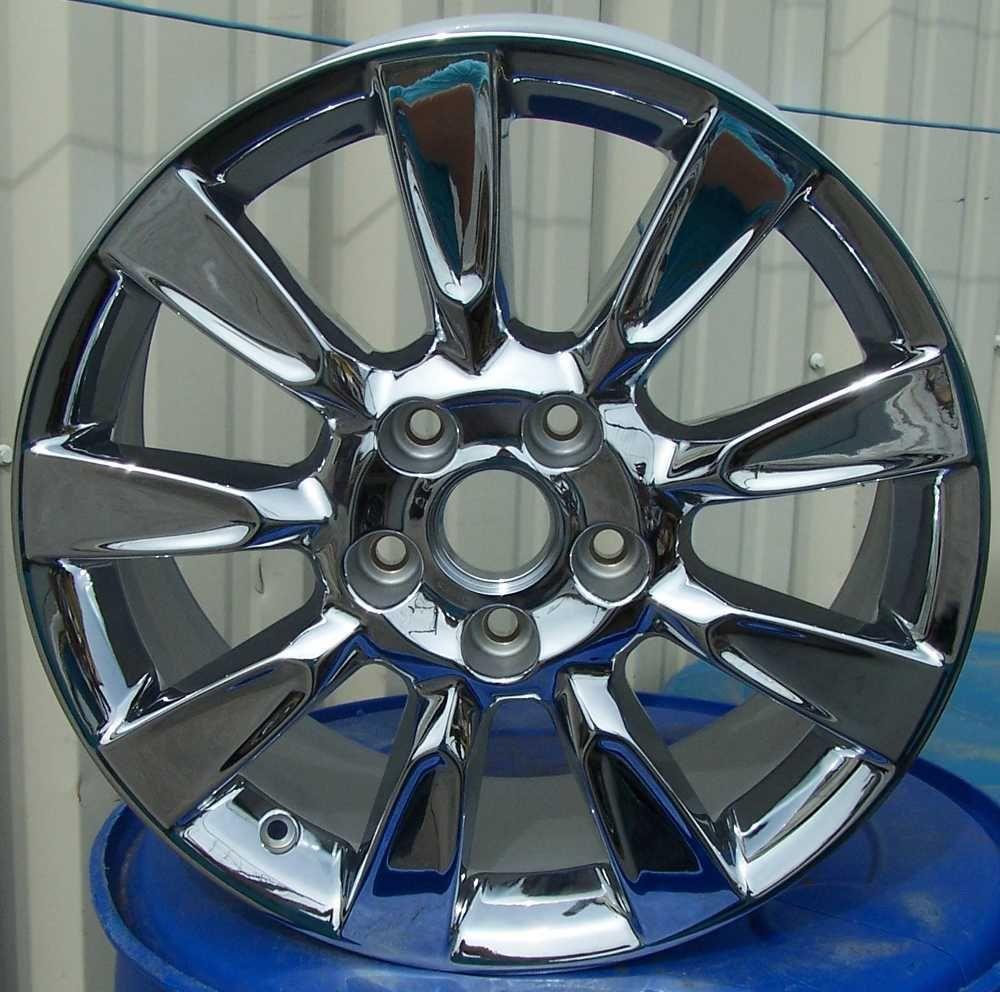 18 Chrome Alloy Wheels Rims for 2005 2006 2007 2008 2009 Cadillac XLR