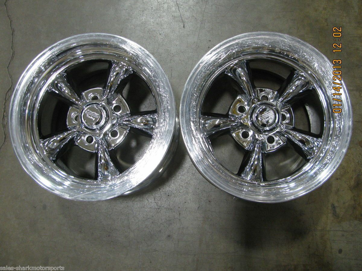 American Racing Wheels Rims 15 x 10 Torq Thrust II Pair of 2 5x114 3