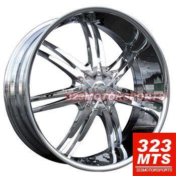 26 inch Rims Bentchi B14 Escalade Chevy Tahoe Yukon GMC
