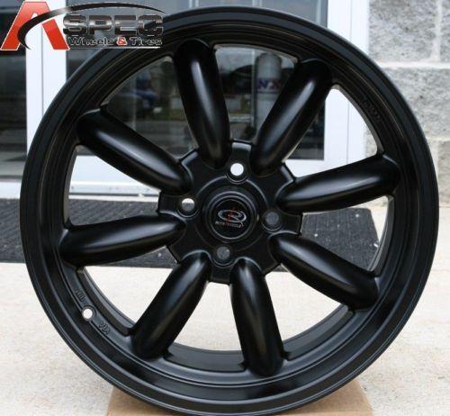 Rota RB 13x8 4x114 3 ET4 73 1 Flat Black Rims Wheels