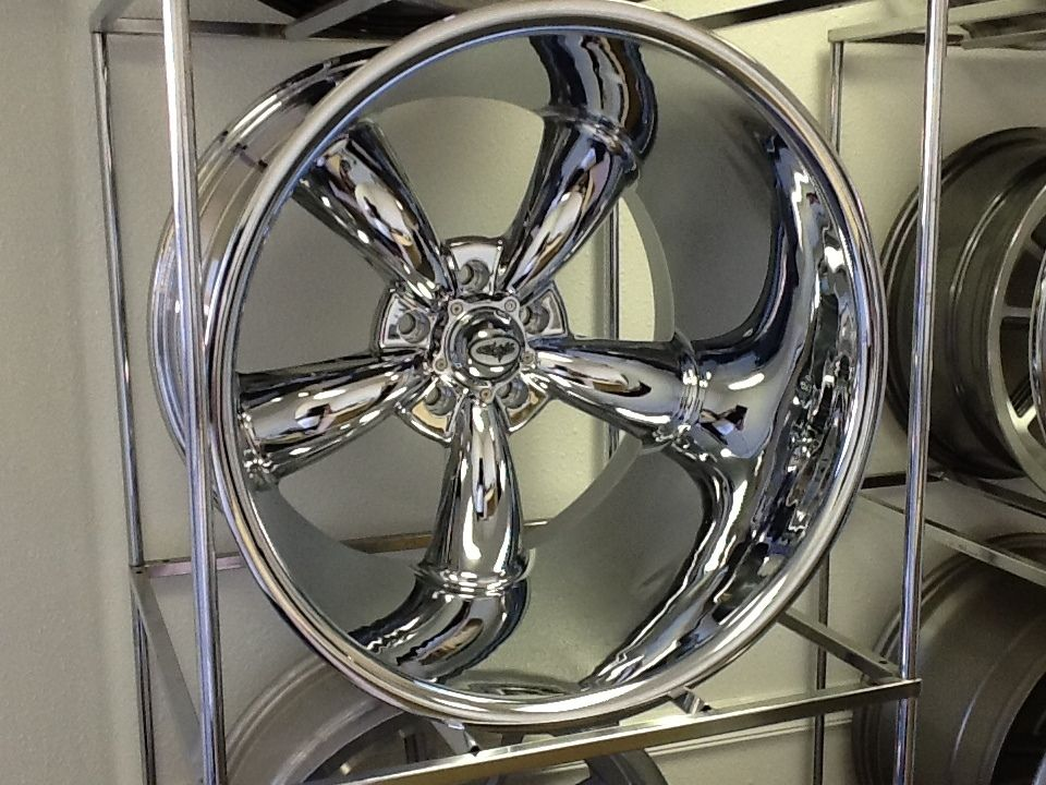 Wheels Chrome Pro Touring Pro Street Muscle Car Hot Rod Wheels