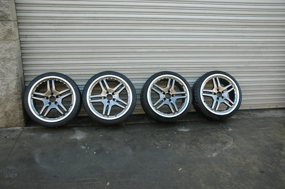 AMG Style Staggered Wheels Mercedes Benz SL65 SLK 55 Rims 5x112