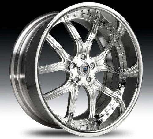 26 305 30 inch asanti AF150 7 inch Lip Kumho AF 150 Chrome Wheels Rims