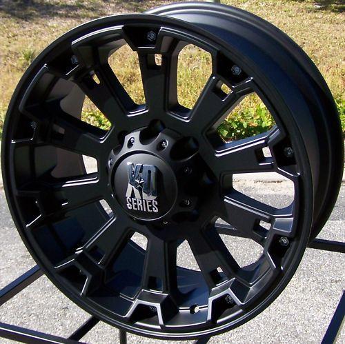 18 XD Misfit Wheels Rim 2011 Up Chevy Silverado GMC Sierra 2500 3500
