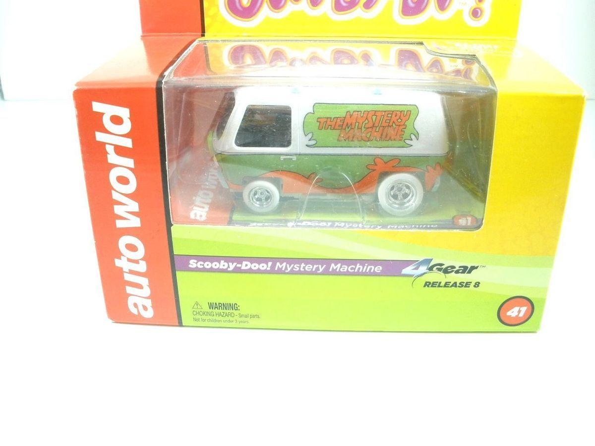 World 4 Gear Siver Screen Scooby Doo Mystery Machine 41 Iwheels