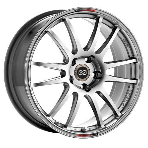 17 Enkei GTC01 Hyper Black Rims Wheels 17x7 5 48 5x100 Subaru Impreza
