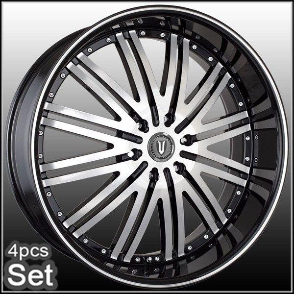 28 Wheels Rims Escalade Chevy Ford QX56 H3 Silverado Yukon Tahoe