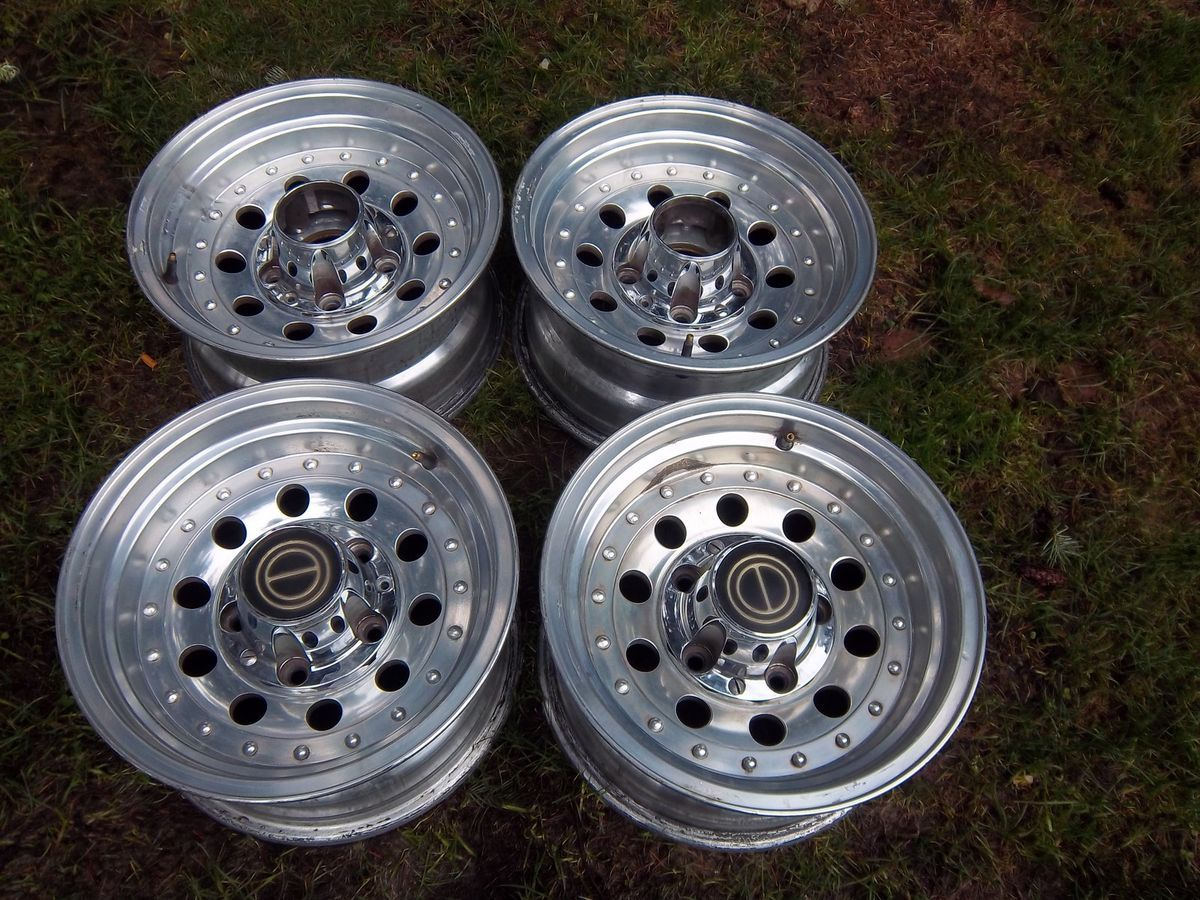 Ford F150 Polished Wheels Rims factory Van Bronco Econoline E150 70 96