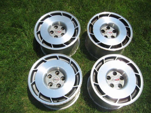 Corvette Chevy 16 Factory Stock Wheels Rims C4 ZR1 LT1 Vette
