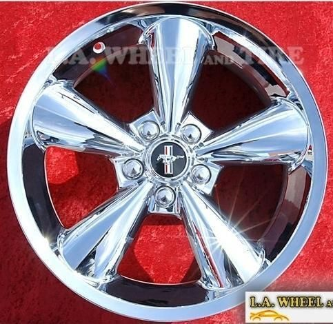 of 4 New 18 Ford Mustang Chrome OEM Factory Wheels Rims 3648 EXCHANGE