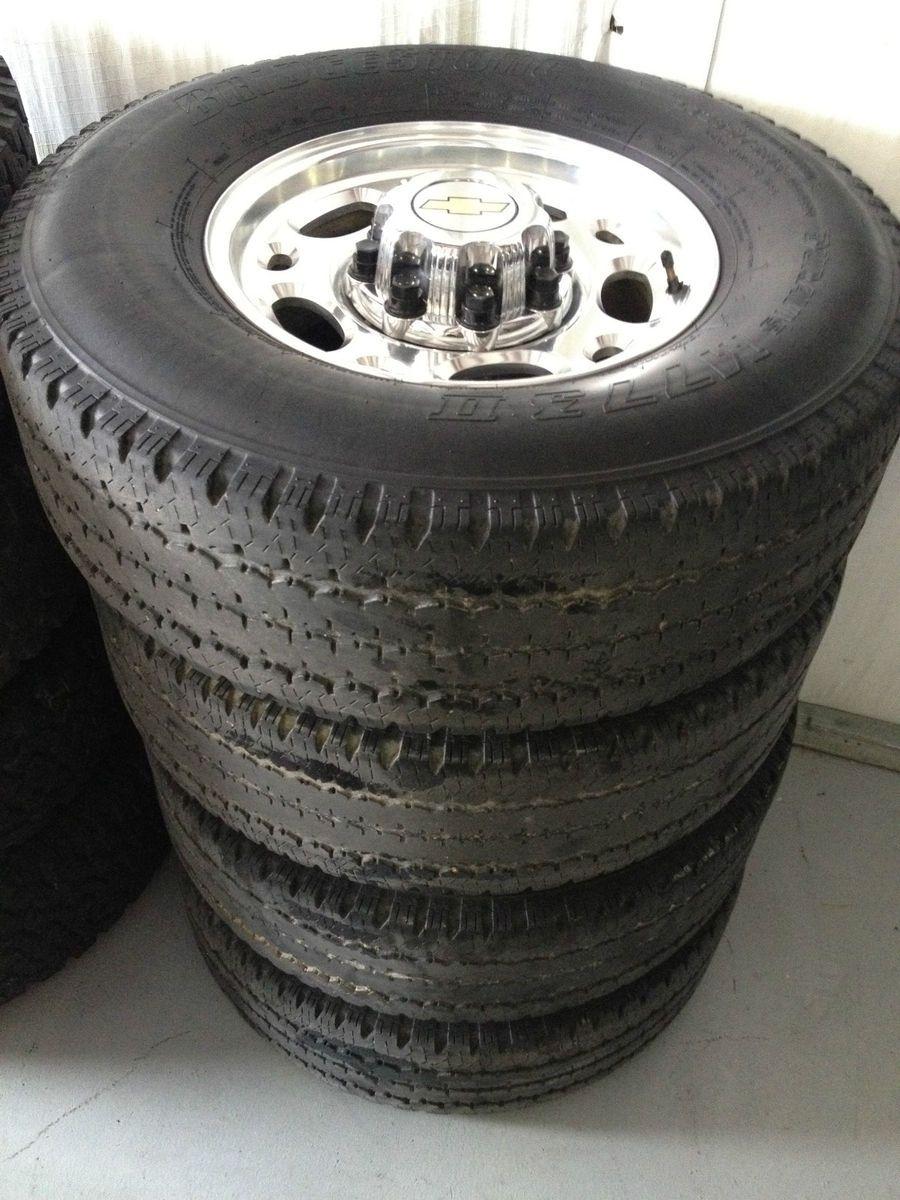 16 8 Lug Aluminum Duramax Wheels Rims Chevy GMC 2500HD 4x4 USA Texas