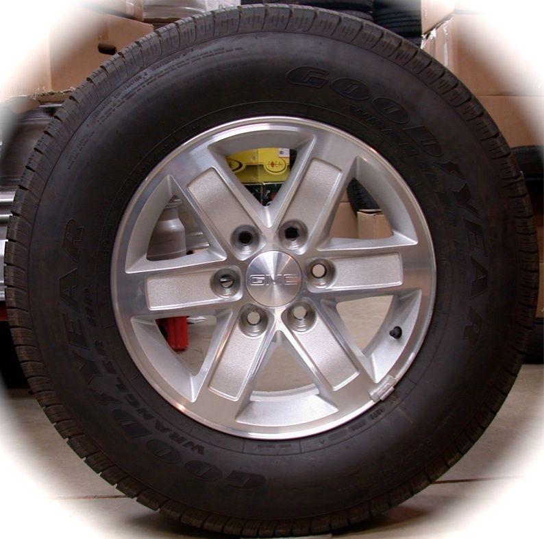 NEW GMC Sierra Yukon OEM 17 Wheels Rims Tires Chevy Silverado Tahoe
