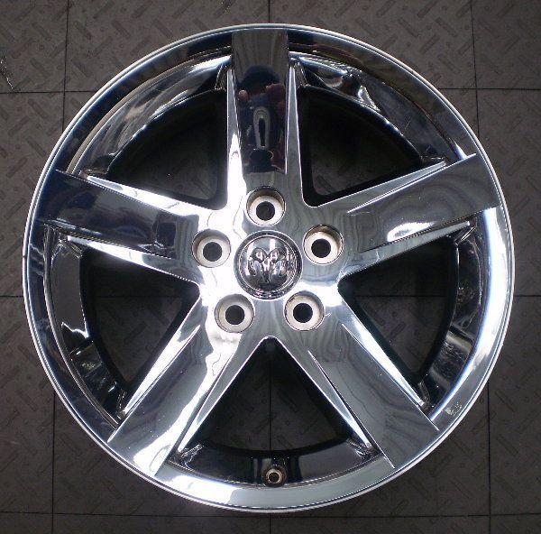 2364 Dodge RAM 1500 20 Factory OE Chrome Wheels Rims 4