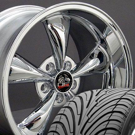 Bullitt Style Wheels Nexen Tires Rims Fit Mustang® 94 04