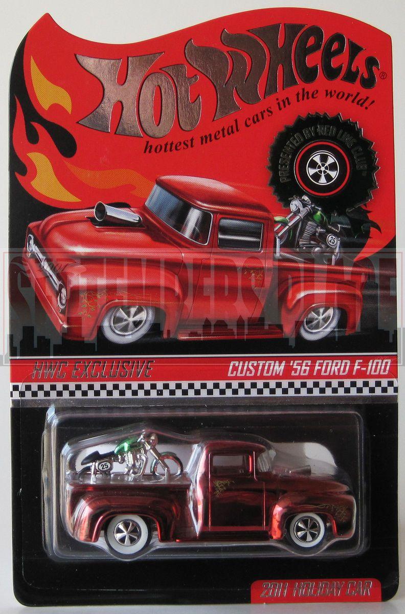 Hot Wheels Holiday Custom 56 Ford F 100