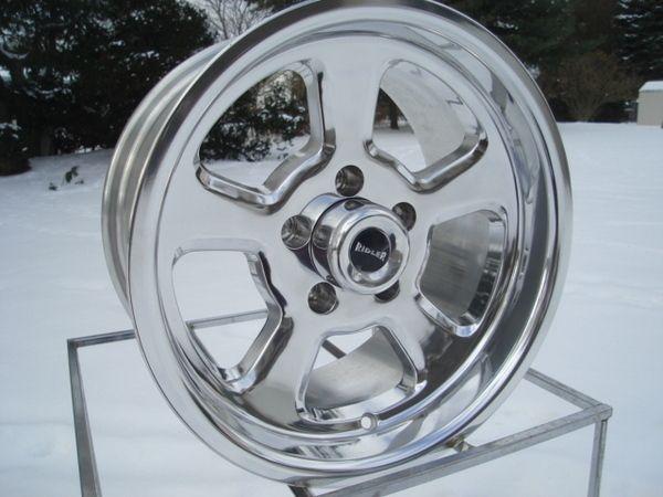 15 7 8 Gasser Hot Rod Mopar Chevy GM Ford Wheels Ridler Racing
